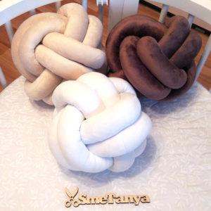 Подушка-узел - фото